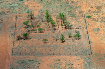 Canyon de Chelly Square Fenced Paddock