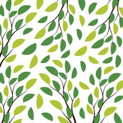 Nature leaves pattern illustrations