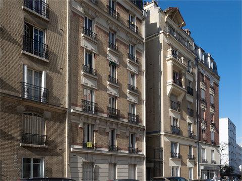 immeuble de la rue Jules Dupré à Paris