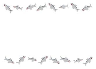 サメのフレーム