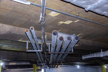 Replacement of ventilation pipes