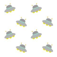 宇宙船の模様