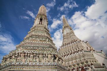Prangs of Wat Arun