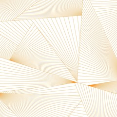 Abstract lines triangle form background.