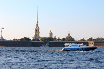 Peter-Pavel's Fortress. St. Petersburg.