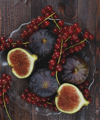 food photography figs