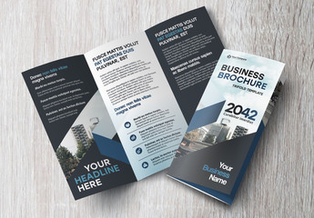 Tri-Fold Brochure Layout