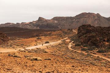 The roads of Teide