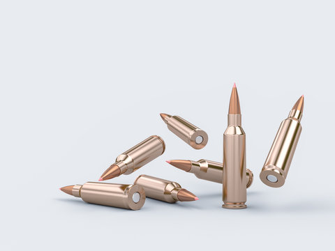 rifle bullet background