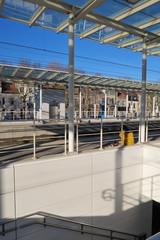gare de Jette, Bruxelles, Belgique