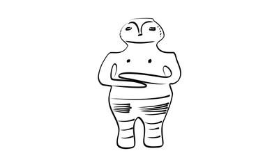 Totem vector illustration