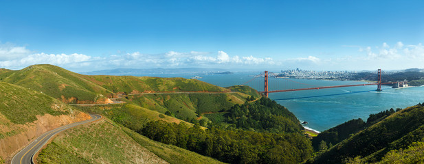Golden Gate Bridge, San Francisco, USA, North America.