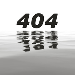 404 error with water reflections