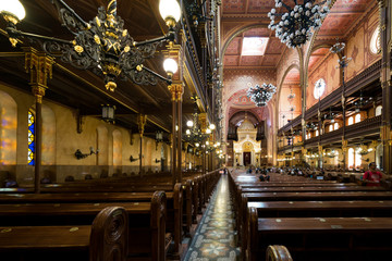 Dohány Street Synagogue in Hungary and Budapest