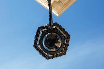 Lampione stradale con telecamera - centro storico