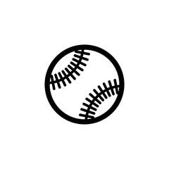 baseball outline vector icon