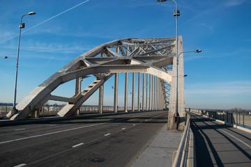 Bridge Waalbrug  Over  Waal