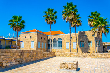 Old fortification of Acre/Akko in Israel