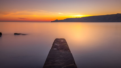 North Yorkshire Coast Sunrise at Runswick Bay