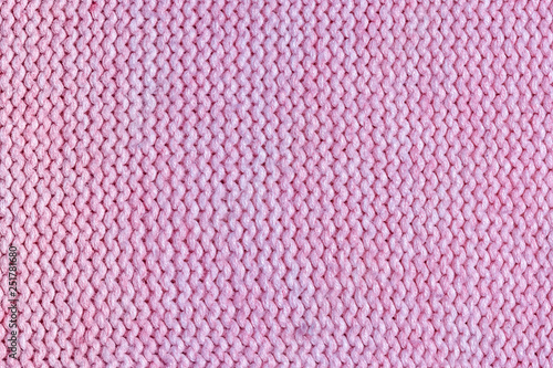 6675d27e022 Texture, pink knitted jersey close up. Blank wool background.