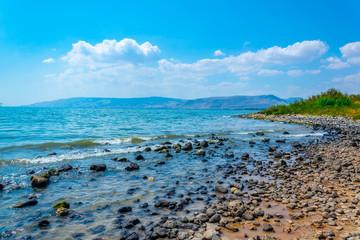 Fototapete - Sea of Galilee in Israel