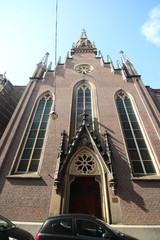 German Evangelical church on the Bleijenburg in The Hague the Netherlands