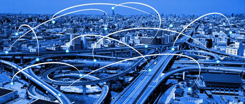 ネットワーク通信のイメージ