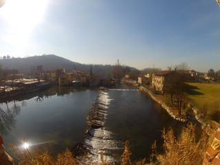 Borghetto Valeggio Verona Italia borgo storico mediovale