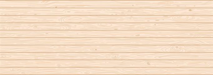 Light wood textured vector background. Natural hardwood texture