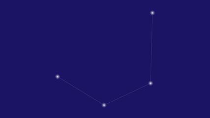 Mensa constellation vector design