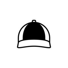 Cap icon vector. Cap vector design. sign design. flat style. Vector EPS 10