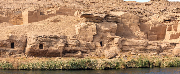 Dschabal as-Silsila der bedeutendste Sandstein-Steinbruch Ägyptens