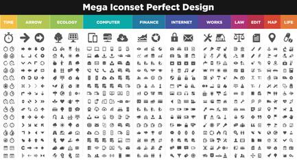 catégories icônes