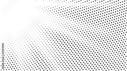 Halftone gradient sun rays pattern  Abstract halftone vector