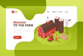 Farm Buildings Website Design