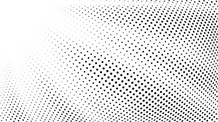 Halftone gradient explosion pattern. Abstract halftone vector dots background. Fireworks dots pattern. Pop Art, Comic small dots. Star rays halftone poster. Shine, sun rays. Radial space, sunrise rays