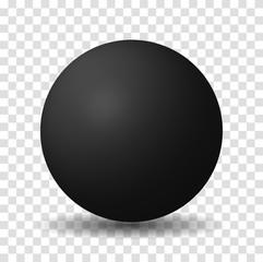 Black Sphere Ball