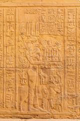 Relief in Ägypten, Tempel Kom Ombo