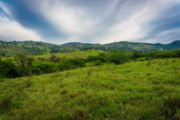 Spoed Fotobehang Bleke violet Huila, Colombia Landscape