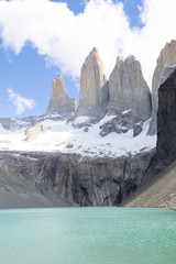 Base Las Torres viewpoint, Torres del Paine, Chile