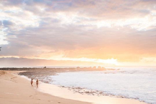 North Shore Ke Iki Sunset