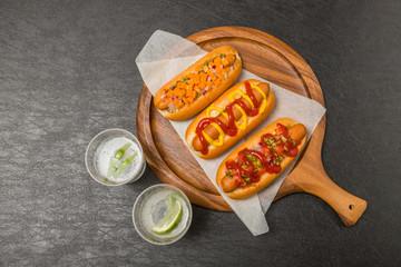 ホットドッグ hot dog