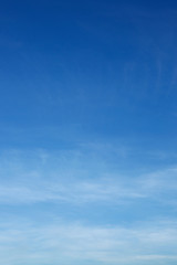 air on blue sky, clear weather day background