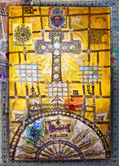 Photo sur Plexiglas Imagination Celtic and ethnic cross