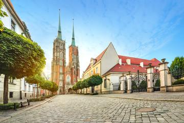 Obraz Wrocław o poranku - fototapety do salonu