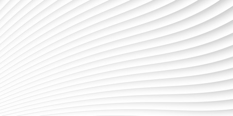 grey white waves and lines pattern. Vector futuristic template background