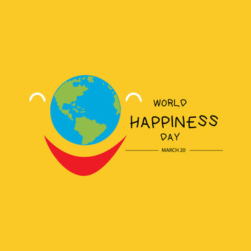 International day of happiness. March  20.