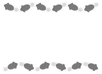 ネズミのフレーム