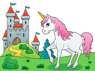 Poster For Kids Fairy tale unicorn theme image 6