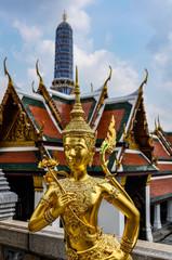 Statue in Grand Palace, Bangkok, Thailand